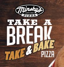 take and bake pizza