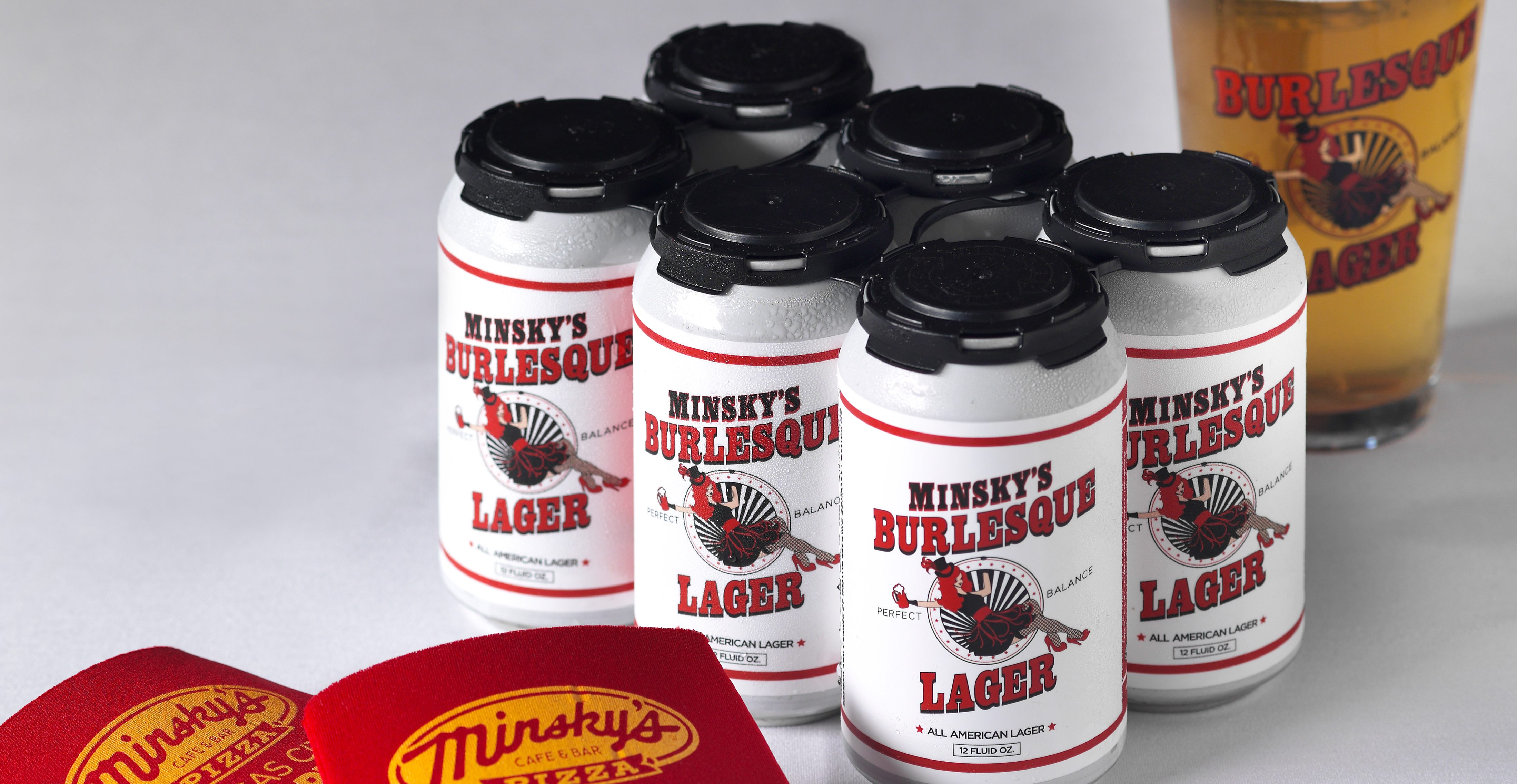 Minsky's Burlesque Lager – Now Available in Cans!