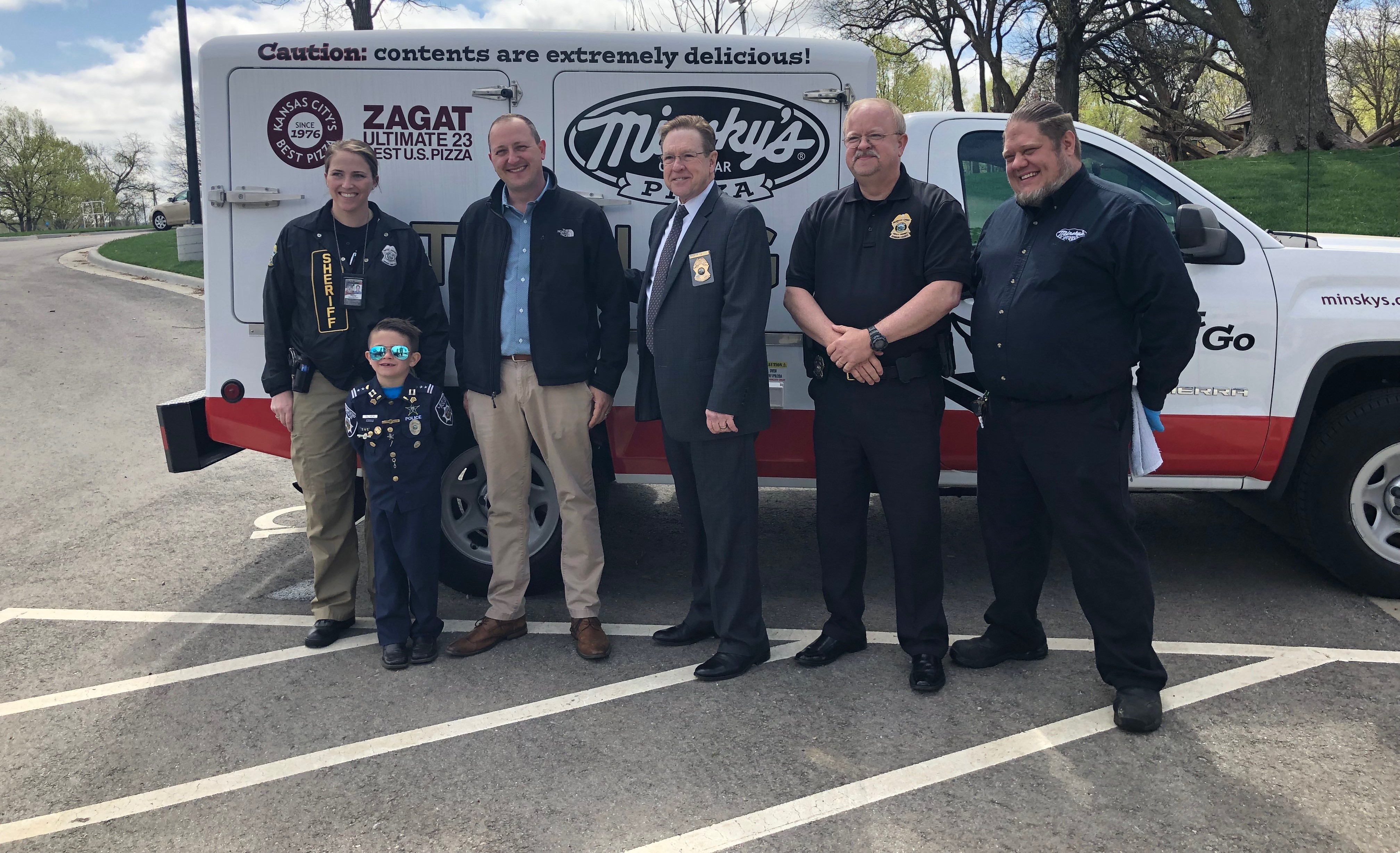 Minsky's Police Luncheon with Officer Oliver a Success!