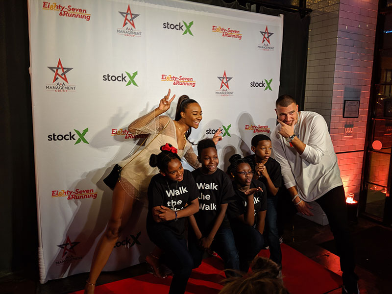 """Minsky's Featured at Travis Kelce's """"Walk the Walk"""" Fashion Fundraising Event"""