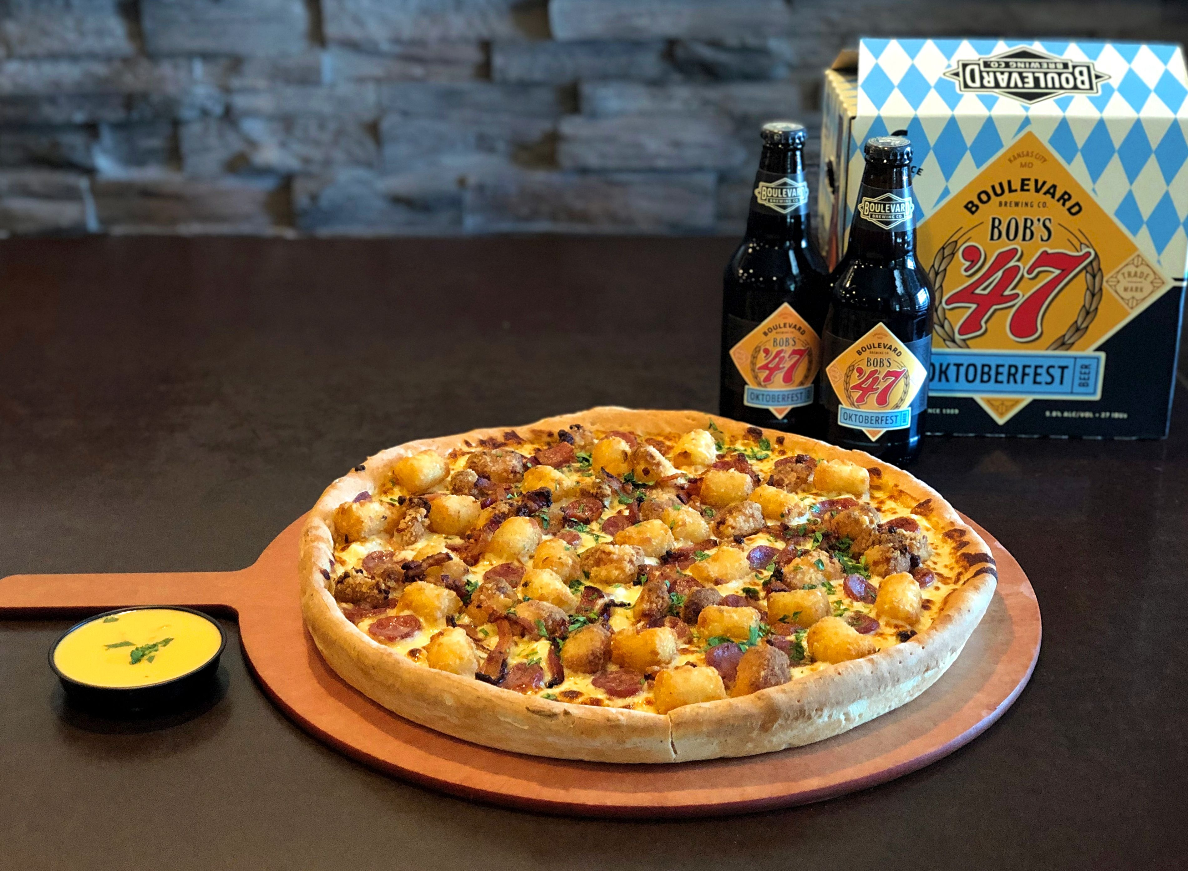 Minsky's Launches Legendary Oktoberfest Pizza – for a Limited Time Only!