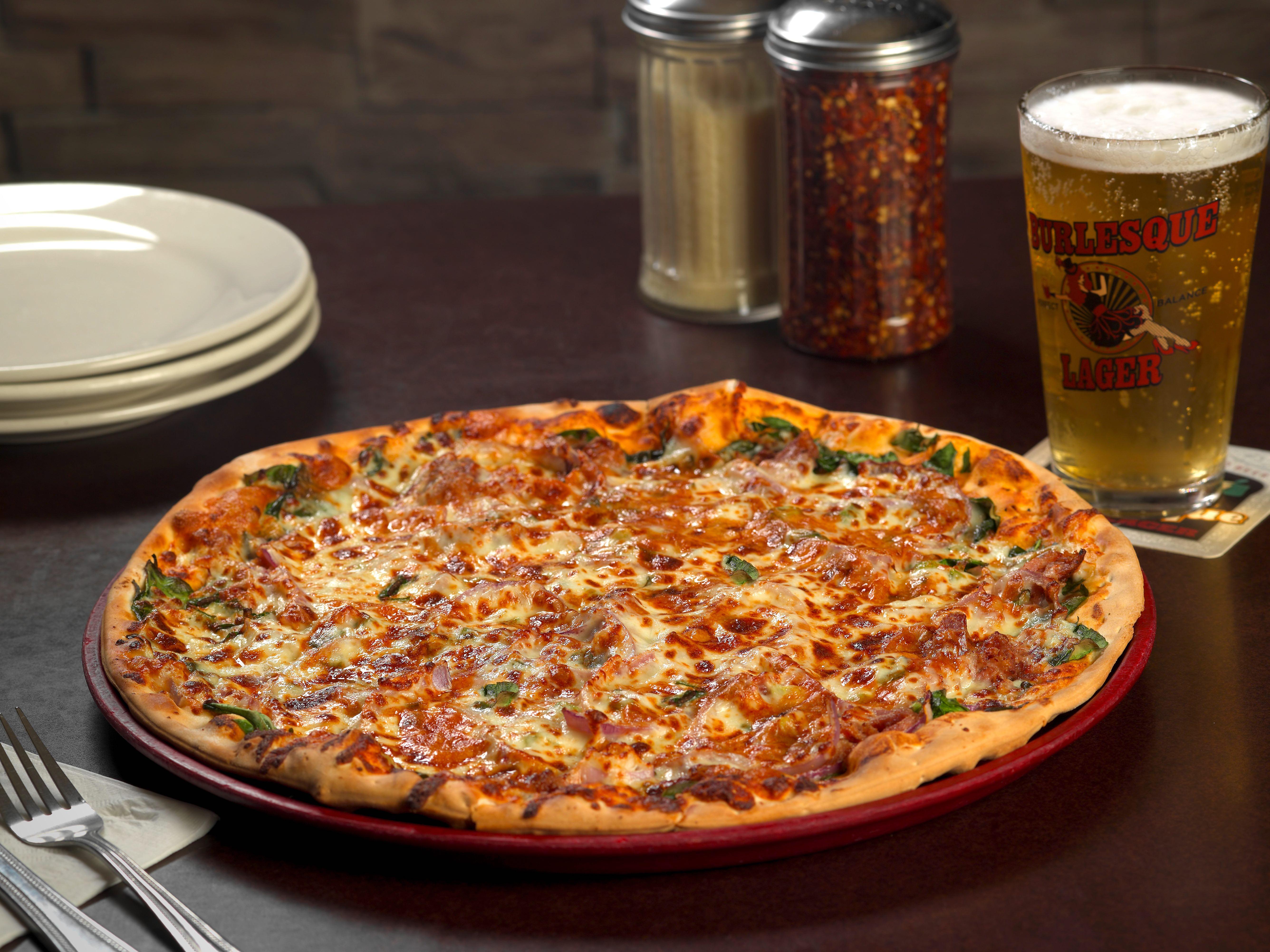 Minsky's Chouteau Grand 20th Anniversary Gourmet Pizza