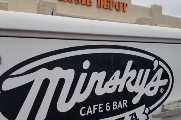 Minsky's delivers to Home Depot