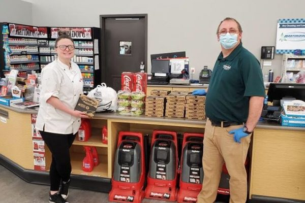 Minsky's delivers to Hy-vee