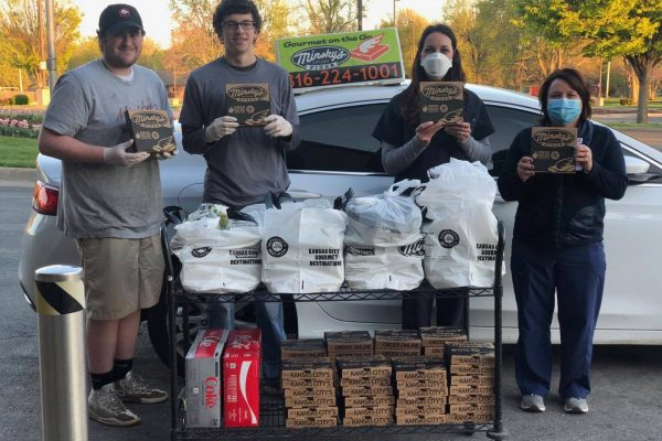 Minsky's delivers to St. Mary's Hospital