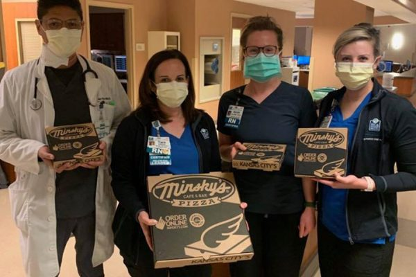 Minsky's delivers to Centerpoint Hospital