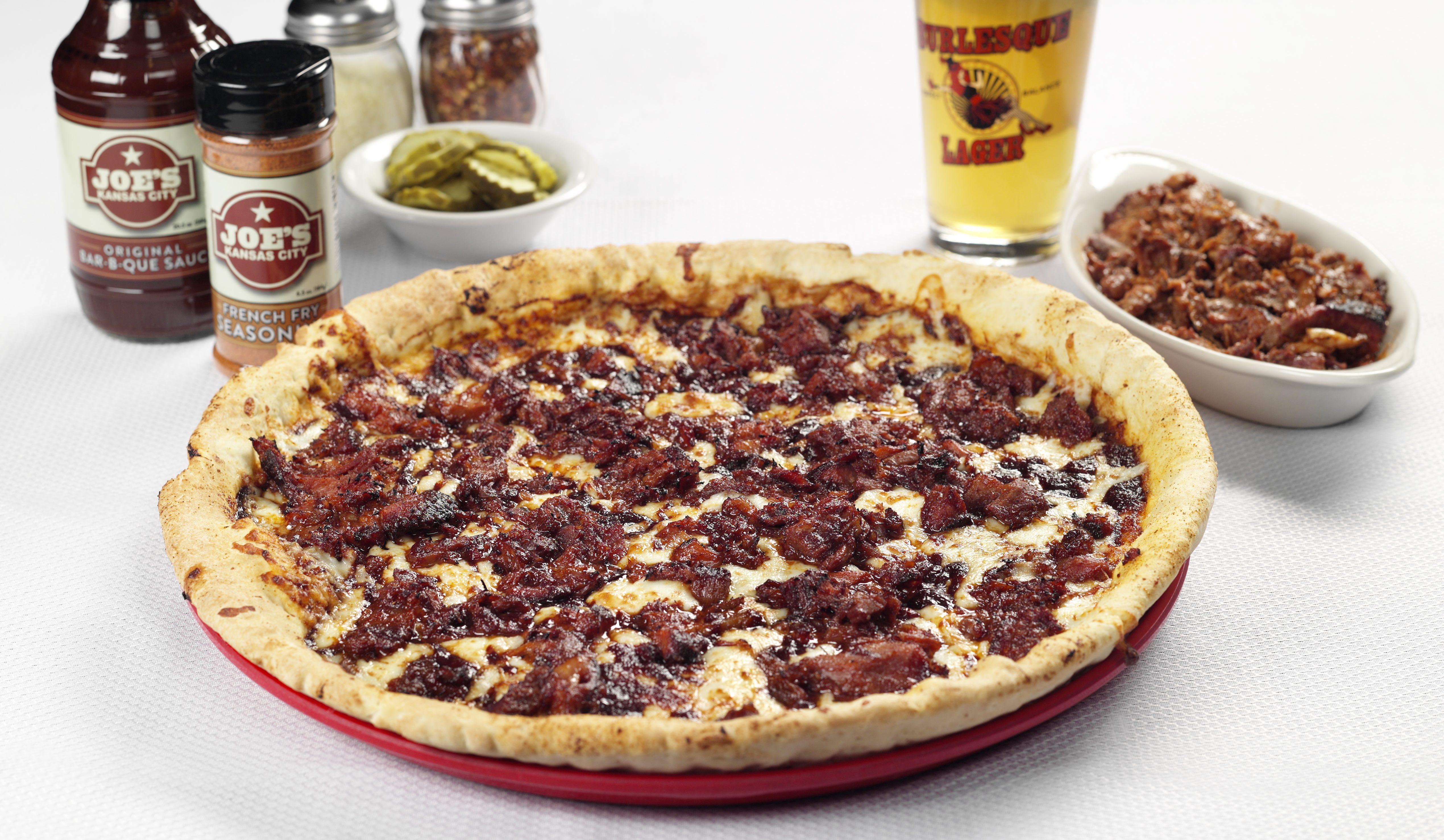 Minsky's + Joe's KC BBQ Pizza!