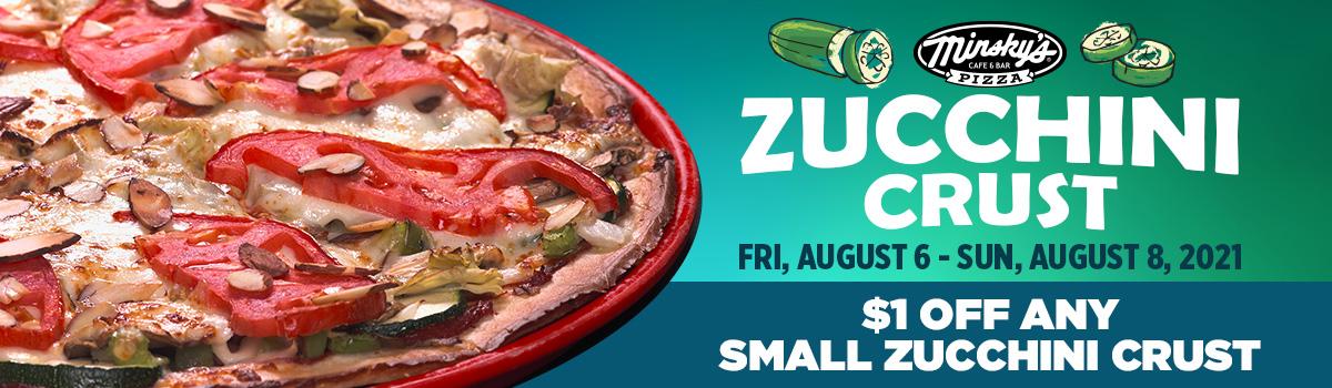 NEW! Light and Tasty Zucchini Crust