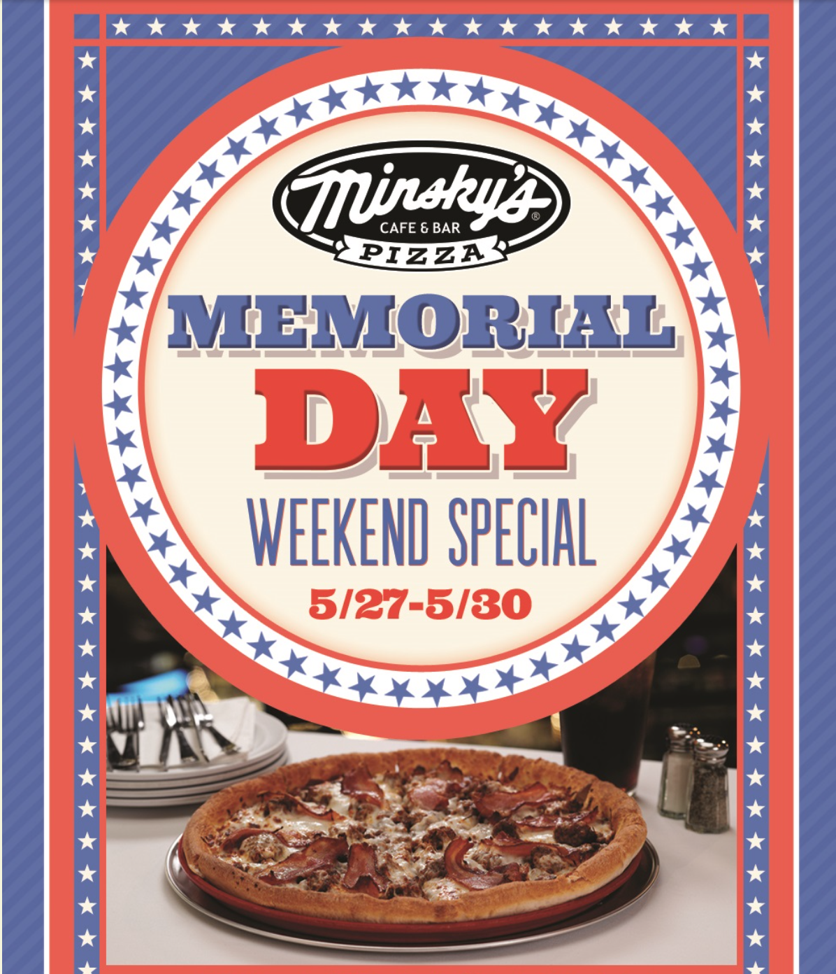Minsky's Memorial Day Special