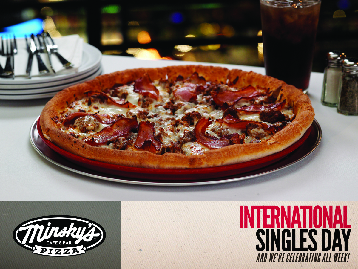 Celebrate Singles Day all Week Long at Minsky's!